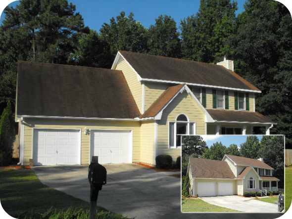 Blue Sky Offers Low Pressure Roof Washing Black Streaks On