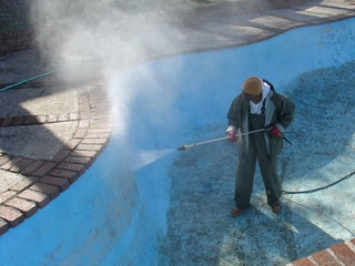 Pressure Washing Swimming Pools In New Hampshire Massachusetts W Blue Sky Power Washing 603