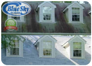 Blue Sky Pressure Washing vinyl siding in Tewksbury Massachusetts & Vynl Siding in Massachusetts