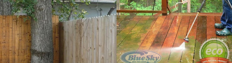 Blue Sky Pressure Washing Home Sun Decks Amp Fences In New