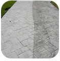 Pressure Wash Your Cement, Stone, or Brick driveway or walkway & Be rid of Grease & Grime with BlueSky Power Washing